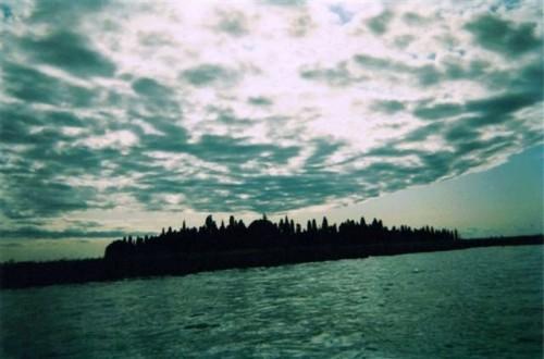 san francesco,venise,strindberg,institut suédois,nuages